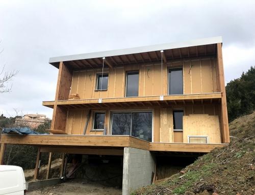Construction de deux maisons individuelles – Montastruc La Conseillère 31 – Maisons D.