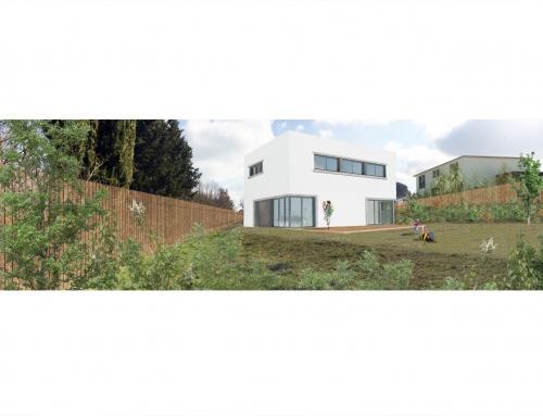Construction de deux maisons individuelles – Lapeyrouse-Fossat 31 – Maisons M.